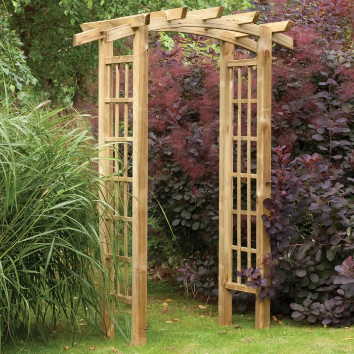 Beautify your backyard with a garden arch trellis my garden trellis make your garden beautiful - Backyard trellis designs photos ...